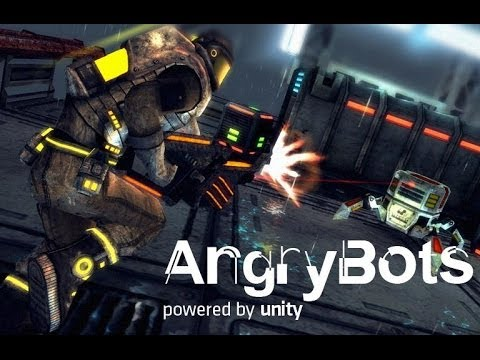 Angry Bots - крутая демка на Android
