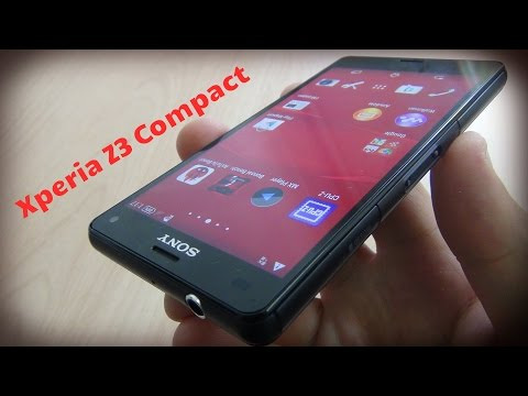 Sony Xperia Z3 Compact обзор